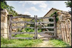 Casa Rural La Querola | Exterior | Valla Garden Bridge, Outdoor Structures, Rural House, Fences, Pretty, Cities
