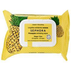 Shop Sephora Collection's Cleansing & Exfoliating Wipes at Sephora. This collection of cleansing and makeup-removing wipes, each features a skin-refreshing benefit. Makeup Remover Wipes, Makeup Wipes, Makeup Removers, Acne Makeup, Beauty Care, Beauty Makeup, Exfoliating Scrub, Acne Prone Skin, Oily Skin