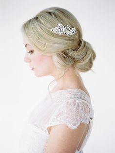 SCARLETT | crystal bridal headpiece