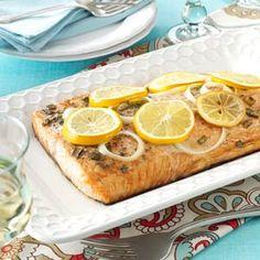 Lemon Grilled Salmon