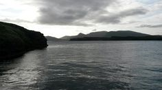 Back on the ferry & heading to Eigg