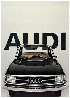 Great old Audi - logo hasn't changed much