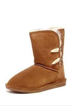 For her: BEARPAW boots