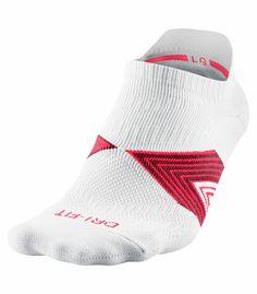Socquettes 96 % nylon et 4 % élasthanne Tissu respirant Dri-FIT Support de la voûte plantaire Conception pied droit et pied gauche pour un m...
