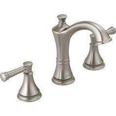 Delta Valdosta Spotshield Brushed Nickel Handle Widespread - Pictures of bathroom faucets