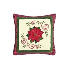 Heimtextilien, Bad- & Bettwaren Bettlaken & Kissenbezüge Jolly Santa by C & F Enterprises 18 Hooked Pillow