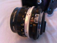 Nikon Nikkor-H Lens Auto 1:3.5 f=28mm