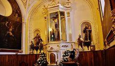 Altar Mayor, Capilla del Perdón, Santuario de San Miguel del Milagro, Nativitas, Tlax.  Cortesía de Enrique Tamayo López Biosca.