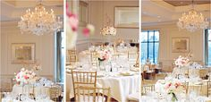 Spring is in the air in our romantic #Boston ballroom. #luxbride #weddingwedneday Photo Credit: K. Photographie
