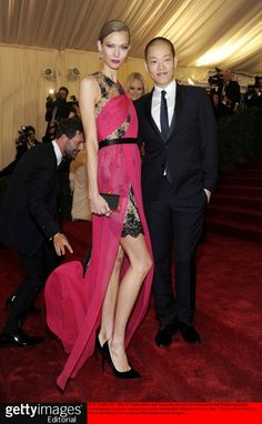 Karlie Kloss with and in Jason Wu