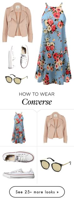 """""""Untitled #1"""" by nbunlimited on Polyvore featuring Doublju, River Island, Converse, GUESS and springdresses"""