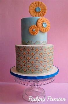 Cake Wrecks - Home - Sunday Sweets: Orange &Teal