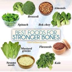 These foods will help keep your bones strong and healthy!