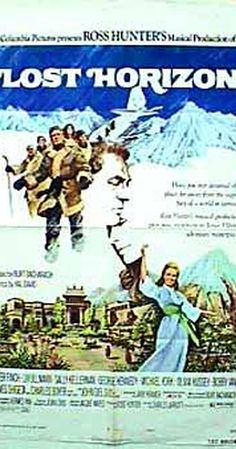 Directed by Charles Jarrott.  With Peter Finch, Liv Ullmann, Sally Kellerman, George Kennedy. This retelling of the classic tale of James Hilton's Utopian lost world plays out uneasily amid musical production numbers and Bacharach pop music. While escaping war-torn China, a group of Europeans crash in the Himalayas, where they are rescued and taken to the mysterious Valley of the Blue Moon, Shangri-La. Hidden from the rest of the world, Shangri-La is a haven of peace and tranquility for ...