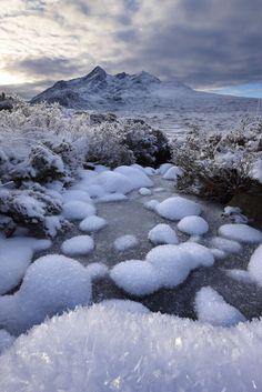 Glen Sligachan & the Cullin in winter, Isle of Skye, Scotland | David Noton Photography