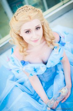 Have courage and be kind #sdcc2015 #Cinderella #cosplay | Photo by Joits