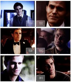 Stefan's timeline---1864 is my fave and also 1920s like the hair lol