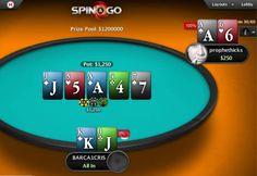 PokerStars разыграл уже пять джекпотов Spin&Go в $1 000 000.  Лидер индустрии онлайн-покера PokerStars в рамках празднования первой годовщины с момента запуска Spin&Go уже успел разыграть пять джекпотов по миллиону долларов каждый.