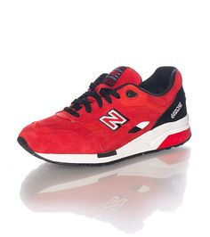 """NEW BALANCE Low top men's sneaker Lace up closure NEW BALANCE """"N"""" on sides Cushioned inner sole for comfort Suede upper"""