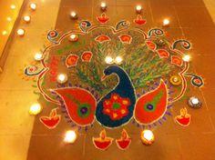 """Diwali Rangoli Designs Images 2015"""