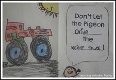 speech bubble; don't let the pigeon . . .