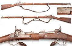 Scarce Remington Contract 3-Band Springfield Pattern 1863 Musket - Remington is believed to be one of only two makers to produce muskets that exactly followed the model 1863 Springfield specs. The other is the S Norris & WT Clements Made for Massachusetts musket. This Remington contract is a rare piece. The gun is in VG/Fine condition and has matching 1865 dates on the lock and barrel.