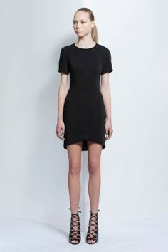 SHORT CIRCUIT DRESS black
