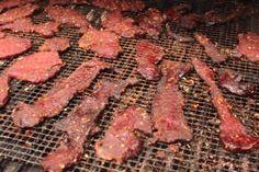 Traeger's Teriyaki Deer Jerky Jerky Seasoning Recipe, Deer Jerky Recipe, Jerky Recipes, Traeger Recipes, Venison Recipes, Barbecue Recipes, Grill Recipes, Game Recipes, Traeger Bbq