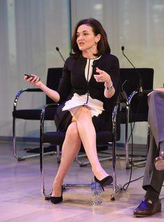 #AWXI Advertising Week: Sheryl Sandberg speaks onstage at the Rethinking Marketing to Women #facebook #womeninleadership