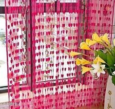 Curtains & Sheers Fashionable Net Polyester Door Curtains ( Pack Of 2 ) Material: Net Polyester Dimension ( L X W ): 7 ft x 4 ft Type: Stitched  Description: It Has 2 Pieces Of Door Curtains Work: Printed Sizes Available: 7 Feet, Free Size *Proof of Safe Delivery! Click to know on Safety Standards of Delivery Partners- https://ltl.sh/y_nZrAV3  Catalog Rating: ★3.9 (6478)  Catalog Name: Fashionable Net Polyester Door Curtains Combo Vol 1 CatalogID_466899 C54-SC1116 Code: 842-3368154-