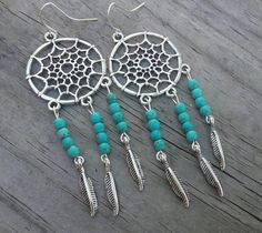 Check out this item in my Etsy shop https://www.etsy.com/listing/253063140/dreamcatcher-earrings-boho-dreamcatcher