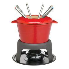 Kitchen Craft Master Class Cast Iron Enamelled Red Fondue Set ** Visit the image link more details.