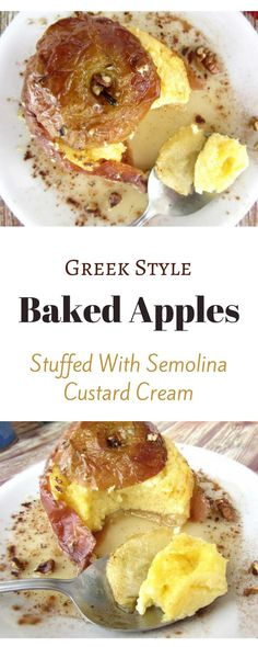 The best baked apples recipe. Super soft and airy.