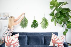 How to Decorate With Palm Leaves, 3 Ways