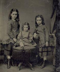 Civil War Era Girls