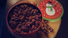 Spicey Spiced Nuts