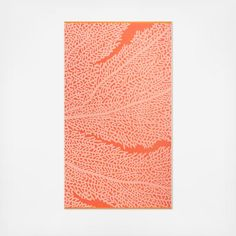 Make a splash with this bright and bold yarn-dyed Coral Reef beach towel. Made from Turkish cotton, this luxurious towel feels ultra-soft against your skin, making it a perfect companion to the beach or the pool. This towel has a soft velour face with a terry reverse.