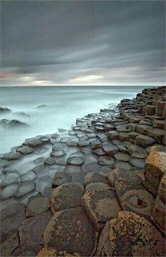 Giants Causeway. Ireland