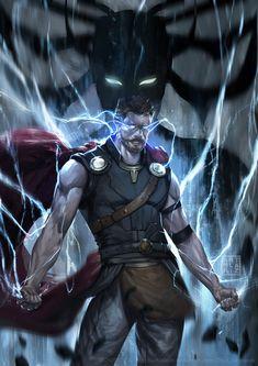 https://artoflariz.deviantart.com/art/Thor-Ragnarok-701573374