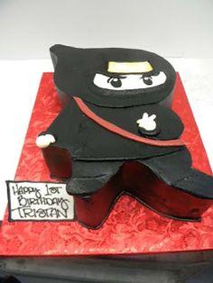 Hansen's Cakes: Ninja Cake!
