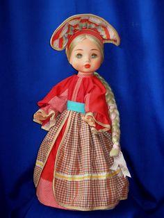 кукла СССР 50см москва паричковая
