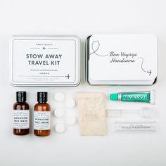 Stow away – Retro-Waschset für den Mann