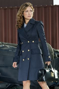 Sophronia , Alondra's aunt and agent for the Government. Trench coat is perfect for the story. XD