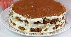 A torta elkészítéséhez csak kekszre és házilag készített krémre lesz szükséged! Kiev Cake, Romanian Food, Russian Recipes, Sweet Cakes, Nutella, Food And Drink, Cooking Recipes, Sweets, Cheesecake