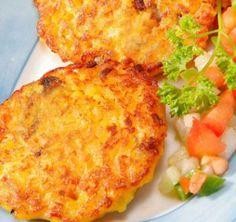 ¿Tienes poco tiempo para cocinar? No te preocupes. Prepara estas rápidas y deliciosas hamburguesas de arroz con pollo. ¡A tu niño le encantará!