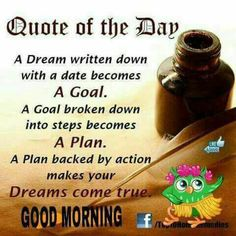 Good Morning Inspirational Quotes Delectable Thought For Todayhappy Thoughts Allinspirationalquotes