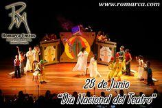 Día Nacional del #Teatro . Se celebra el Día Nacional del Teatro en recuerdo a la solicitud para escenificar un espectáculo teatral en #Caracas ante el Cabildo de Caracas el 28 de junio del año 1600.   En Romarca ofrecemos nuestras tasas de cambio a las 10:00am 🕘 hora Este #Usa 🔛 #Venezuela 6001bsf/$ 6819bsf/€. 📍Visita nuestro sitio web para más información. #Usa  #Florida #Miami #Madrid #Japon #China #Chile #RomarcaEnvios