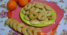 ROSCOS DE NARANJA, (al horno) Bagel, Bread, Cookies, Html, Desserts, Food, Crack Cake, Sweets, Bagels