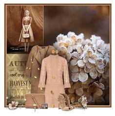 """Autumn"" by anna-survillo ❤ liked on Polyvore featuring H&M, Anna Sui, Gianvito Rossi, Mercantia, Bobbi Brown Cosmetics, annasui and GianvitoRossi"