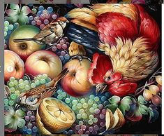 Florals, Russia, Painting, Art, Napkin, Wine Cellars, Floral, Art Background, Flowers
